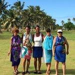 Learning Tahitian Dance