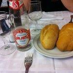 Pan y bebida (Menú)