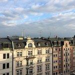 Вид с балкона 7 этажа гостиницы