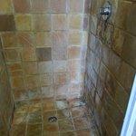 Dirty shower