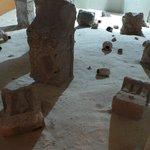 Ricostruzione di ritrovamenti archeologici di epoca punica