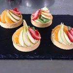 Fruit tart of the day