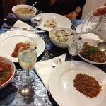 Así comenzó nuestra cena