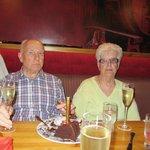 Mum and Dad on there big wedding  anniversary 61years