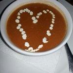 Fresh tomato soup!!!!!
