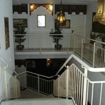Treppe zum Innenraum