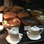 excellent breakfast selection..dimsum, Chinese and western dishes