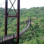 こんな大きい吊り橋とはおもわなかったです。