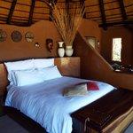 Lovely huge bed...sooo comfy !