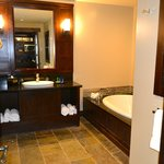 Luxurious Bathroom with HEATED floors!