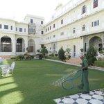 Cours Intérieure du Palace