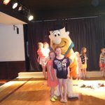 Flintstones themed kids club