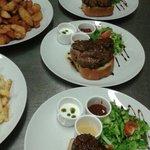 Sirloin steaks are ready! ;-)