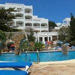 hotel vue piscine