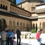 Visitando La Alhambra