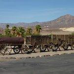 The train at Furance Creek