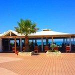 The restaurant  by the sea