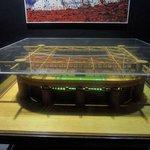Miniatura dello stadio.