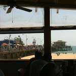 view of the Pier from Bubba Gump
