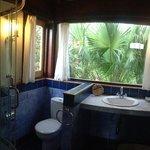 Bathroom blue room