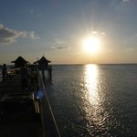 You must watch the sunset from Naples pier