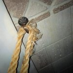 torn curtain tie backs