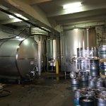 Inside Brewery