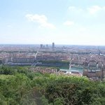 Lyon from Croix Rousse