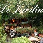 notre terrasse jardin
