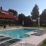 la House dalla piscina