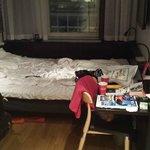 chambre sympa et propre mais minuscule