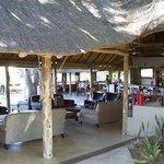 Open air main lodge area