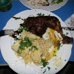 Lemon chicken with rice by Nikos