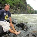 At the base of the Zambezi River