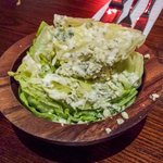very strange idea of a lettuce wedge