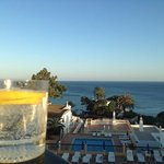 Gin o'clock on the balcony of Do Parque