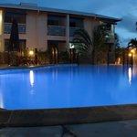 La piscine de nuit