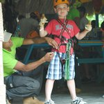 Children are welcome to the Canopy Adventure