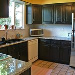 Newly renovated kitchen with granite countertops