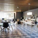 Frühstücksraum mit Lounge