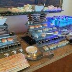 Sushi for breakfast!