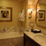 Very spacious bathroom.