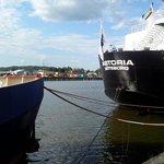 L'Hotel è ricavato a bordo della nave 'Astoria'