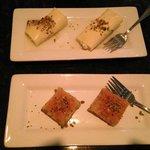 Baklava Crepes deserts