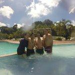 Pool Area with Sunshine