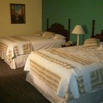 Love the pillow tops and quilts.