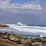 Vista su hermosa de su costa