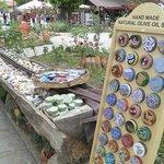 Soap sale in the garden