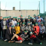 Group photo after a great game of Hurling!