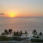 Sunset from the Terrace of Bacados Restaurant just before the